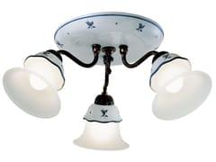 Lampada da soffitto in ceramica con braccio fissoFERRARA | Lampada da soffitto - FERROLUCE