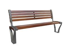 GHM-ECLATEC, FESTONE | Panchina con schienale  Panchina con schienale