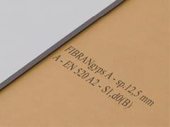 Lastra in cartongesso di dimensioni ridotteFIBRANgyps SMART - FIBRAN