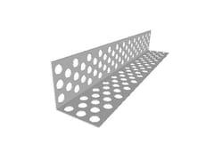 Fibran, FIBRANprofilesPARASPIGOLO FORATO Profilo paraspigolo in acciaio