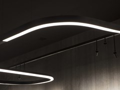 Profilo per illuminazione lineare a LED in alluminioFILE FLEX | Profilo per illuminazione lineare - LUCIFERO'S