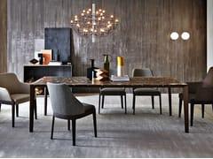 Tavolo da pranzo rettangolare in marmoFILIGREE   Tavolo in marmo - MOLTENI & C.