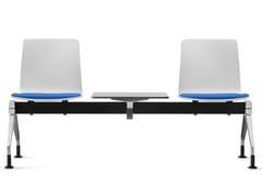 Seduta su barra a pavimentoFIORE MICROSILVER | Seduta su barra - DAUPHIN HUMANDESIGN® GROUP