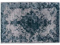 Tappeto fatto a mano rettangolare in lana e seta FIRUZABAD EMERALD - Memories