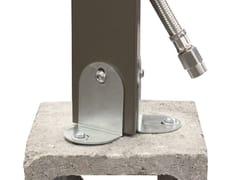 Accessorio per fontane in metalloZanchette di fissaggio - COLORTAP