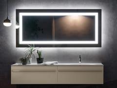 ARTELINEA, FLASH Specchio rettangolare con illuminazione integrata