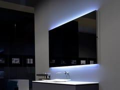 Specchio rettangolare con illuminazione integrata da pareteFLASH90-125 - ANTONIO LUPI DESIGN®