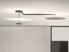 Lampada da soffitto a LED in metalloFLAT | Lampada da soffitto - VIBIA
