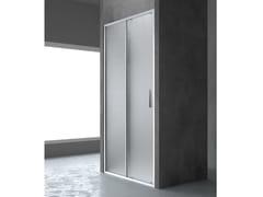 RELAX, FLAT SC1 Box doccia a nicchia con porta scorrevole