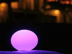 Lampada da tavolo a LED senza fili in plasticaFLATBALL - SMART AND GREEN