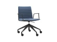 Sedia ufficio ad altezza regolabile a 5 razze con braccioliFLEX CORPORATE SO1670 - ANDREU WORLD