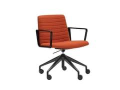 Sedia ufficio ad altezza regolabile a 5 razze con ruoteFLEX EXECUTIVE SO1863 - ANDREU WORLD