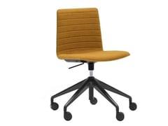 Sedia ufficio ad altezza regolabile a 5 razze con braccioliFLEX HIGH BACK SI1663 - ANDREU WORLD