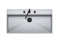 Lavello in acciaio inox con rubinettoFLEXI COMBI 1LFX101N - BARAZZA