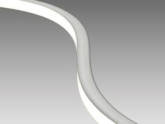 Profilo per illuminazione lineare in resinaFLEXI TOP - ADHARA