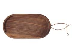 Vassoio / tagliere in noceFLIP OVAL | Vassoio ovale - UBIKUBI