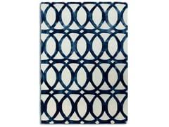 Tappeto rettangolare in lana a motivi geometriciFLOATING BLUE   Tappeto - G.T.DESIGN