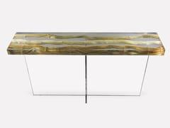 Consolle rettangolare in legno e vetroFLOATING LIANA | Consolle - MORADA - HAUTE FURNITURE BOUTIQUE