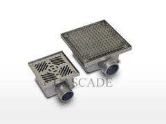 Accessorio idraulico per fontanePiletta di scarico per fontane - CASCADE