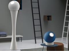 LAMPADA DA TERRA A LED IN POLIMERO CON DIMMERCAMOUFLAGE | LAMPADA DA TERRA - ZAFFERANO