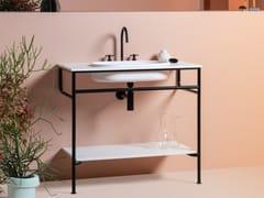 Kos by Zucchetti, RISE | Consolle lavabo da terra  Consolle lavabo da terra