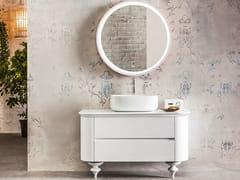 Mobile lavabo da terra in frassino con cassettiINCANTO | Mobile lavabo da terra - ARTELINEA