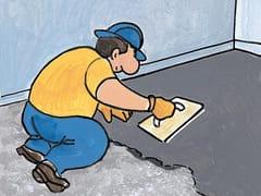 Microcalcestruzzo fibrato rapido per ripristino pavimenti FLOOR TENAX SPEEDY - FLOORTECH