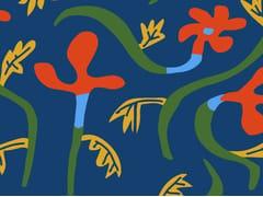Tessuto stampato con motivi floreali per esternoFLORALIS - EQUIPO DRT