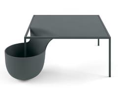 Tavolino rettangolare con vano contenitoreFLOW BOWL - 10H - ALIAS