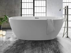 GALASSIA, FLOW Vasca da bagno ovale in acrilico