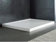 Piatto doccia in Solid Surface su misuraFLOW | Piatto doccia - BLUBLEU