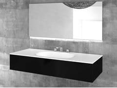Lavabo da incasso soprapiano singolo con pianoFLOW | Lavabo singolo - ABSARA INDUSTRIAL