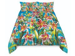 Coordinato letto in cotone con motivi florealiFLOWER WITH HOLES | Coordinato letto - SELETTI