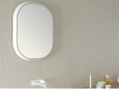 Specchio con cornice per bagno FLUENT | Specchio ovale - Fluent