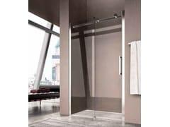Box doccia a nicchia con porta scorrevole FLUIDA FW - Showering