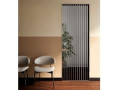 Porta a battente a filo muro in alluminio e vetroRI-TRAIT 8B   Porta a filo muro - ALBED