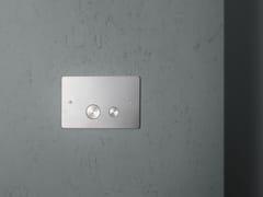 Placca di comando per wc in acciaio inoxPC001/1 | Placca di comando per wc - QUADRO