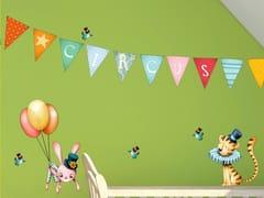 Adesivo da parete per bambiniFLYING CIRCUS - ACTE DECO