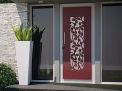Porta d'ingresso in acciaio per esternoFOGLIE AL VENTO - FABBRIDEA