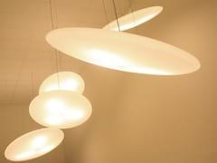 Lampada a sospensione a LED in polietilene con dimmer°FOOL MOON LARGE - EDEN DESIGN