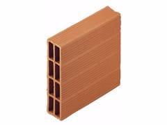 Blocco da muratura in laterizio / Blocco per tamponamento in laterizio Forati 6x25x25 - Blocchi e forati
