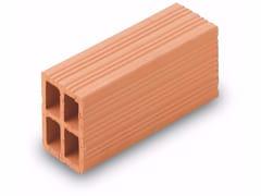 Blocco da muratura in laterizio / Blocco per tamponamento in laterizio Forati 8x12x24 - Blocchi e forati