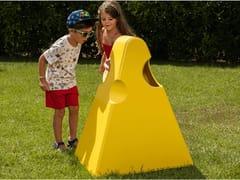 Portarifiuti in acciaio zincato per bambiniFORMAGGINO - DIMCAR