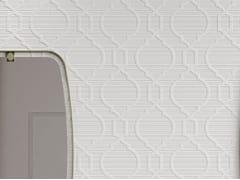 Rivestimento tridimensionale in ceramica a pasta bianca per interniFORME BIANCHE INTRECCIO - ITALGRANITI