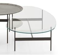 Tavolino basso in vetro da salotto FORMICHE | Tavolino in vetro -