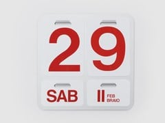 Calendario perpetuo da pareteFORMOSA - DANESE MILANO