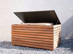 Mobile contenitore da giardino in legnoFORTE - CONMOTO BY LIONS AT WORK