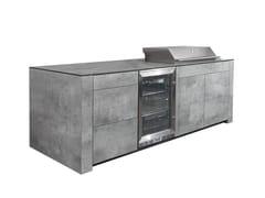 Cucina da esterno con grillFORTE SLIMLINE | Cucina da esterno - INDIAN OCEAN