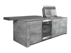 Cucina da esterno con grillFORTE ULTIMATE | Cucina da esterno - INDIAN OCEAN