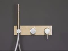 Miscelatore doccia/vasca da parete con deviatore e doccetta FORTY - 1210181/2 - Forty